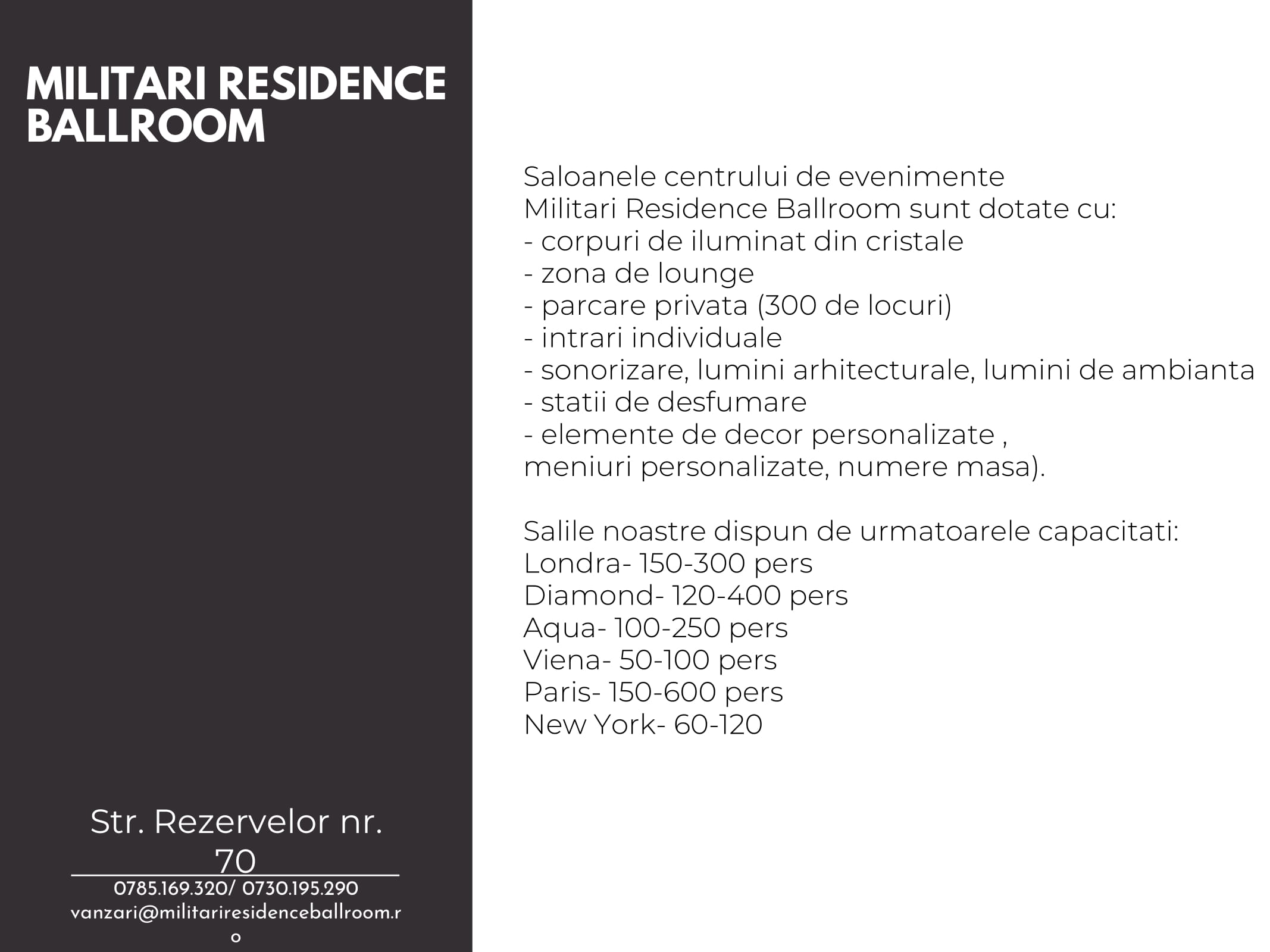 Militari Residence Ballroom Corporate-3