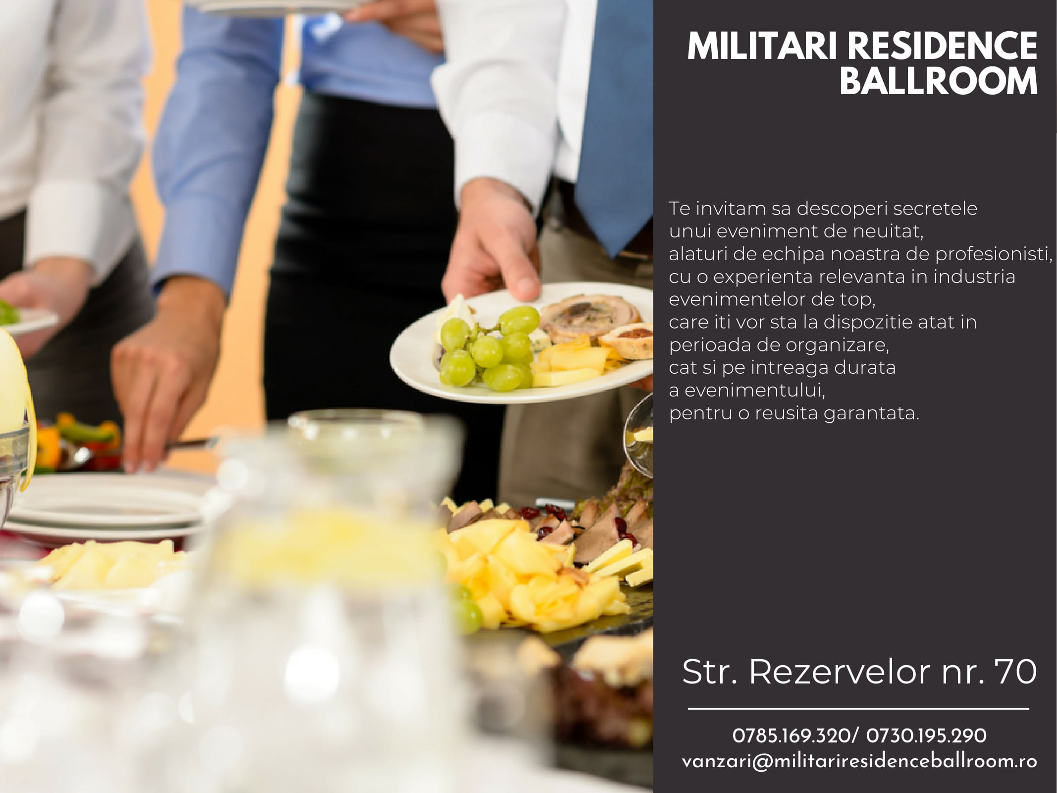 Militari Residence Ballroom Corporate-5