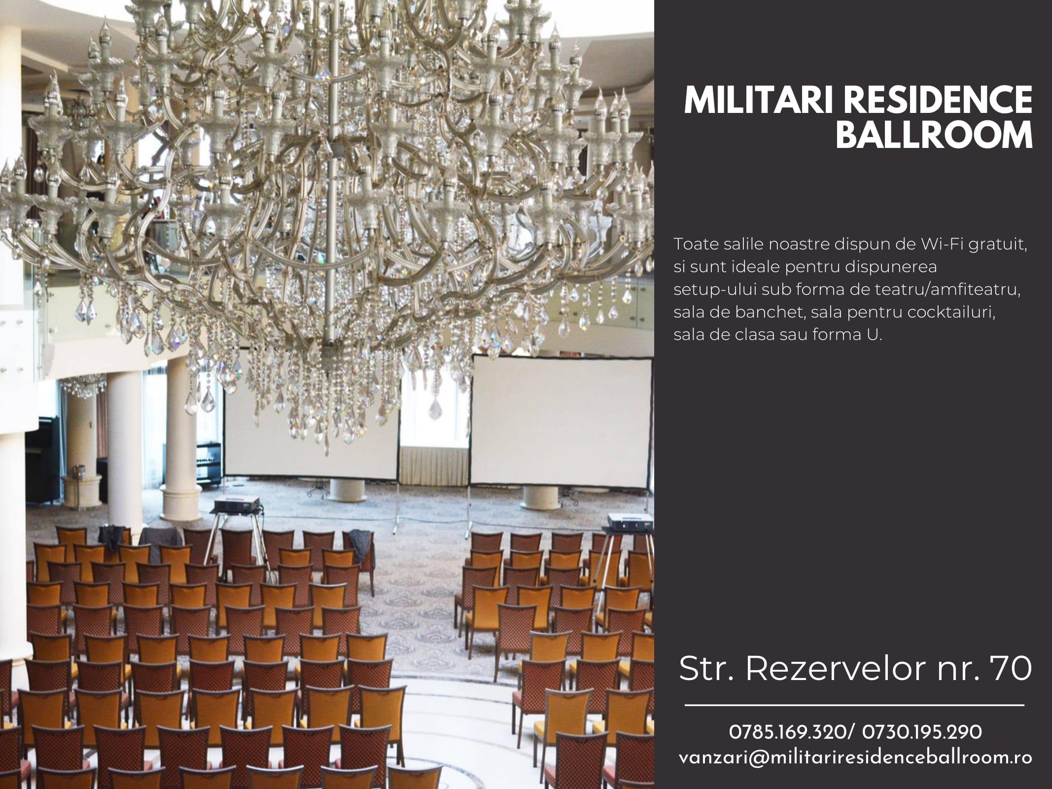 Militari Residence Ballroom Corporate-7